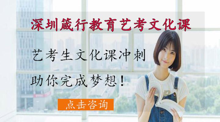 深圳艺考文化课培训班